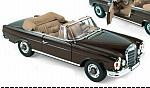 Mercedes 280 SE Cabriolet 1969 (Dark Brown) by NOREV