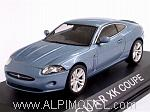 Jaguar XK Coupe 2005 (Light Blue Metallic) by NOREV