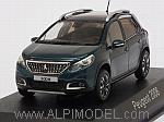 Peugeot 2008 2016 (Emerald Crystal Blue) by NOREV