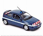 Renault Megane Coupe 2001 Gendarmerie by NOREV
