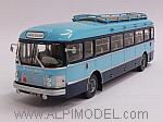 Saviem SC1 School Bus 1964 (Azur/Blue) by NOREV