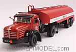 Berliet TLM 15B 1961 with trailer ESSO by NOREV