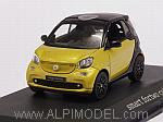Smart Fortwo Cabrio 2016 (Metallic Yellow) Mercedes Promo by NOREV