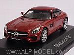 Mercedes AMG GT 2015 (Designo Hyacinth Red Metallic)l Mercedes Promo by NOREV