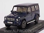 Mercedes G-Class 2016 (Designo Mystic Blue) Mercedes Promo by NOREV