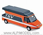 Renault Master TGV 1983 by NOREV