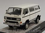 Volkswagen T3b Bus Syncro (White) by PCX