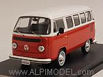Volkswagen T2 Kombi Bus 1976 (Red/White) by PREMIUM X.