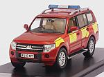 Mitsubishi Pajero UK Derbyshire Fire-Rescue Service 2010 by PREMIUM X.