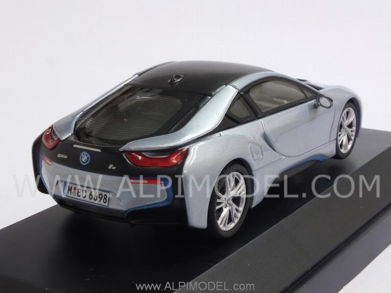 Paragon Bmw I8 2014 Ionic Silver Bmw Promo 1 43 Scale Model