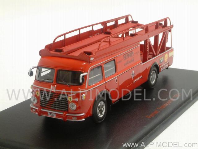 Red Line Fiat Bartoletti Transporter 642 Ferrari 1961 H0