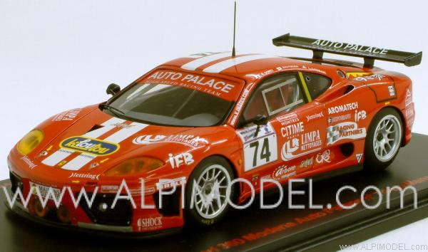 Red Line Ferrari 360 Modena Auto Palace 74 Le Mans 2002