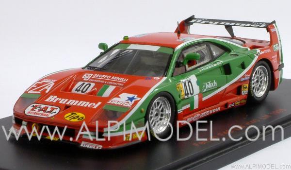 Red Line Ferrari F40 40 Le Mans 1995 Olofsson Della Noce Ota 1