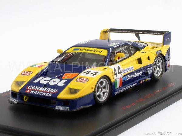 Red Line Ferrari F40 Gte 44 Le Mans 1996 Rosenblad