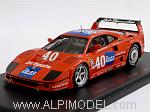 Ferrari F40 GT1 #40 IMSA 1990 Haywood - Ferte by RED LINE