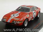 Ferrari 365 GTB/4 #57 Le Mans 1972 Gregory - Chinetti Jr. by RED LINE