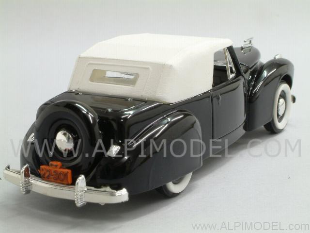 rio lincoln continental cabriolet closed 1941 1 43 scale model. Black Bedroom Furniture Sets. Home Design Ideas
