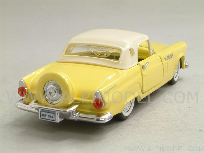 rio Ford Thunderbird Hard-top 1956 (Yellow) (1/43 scale model)
