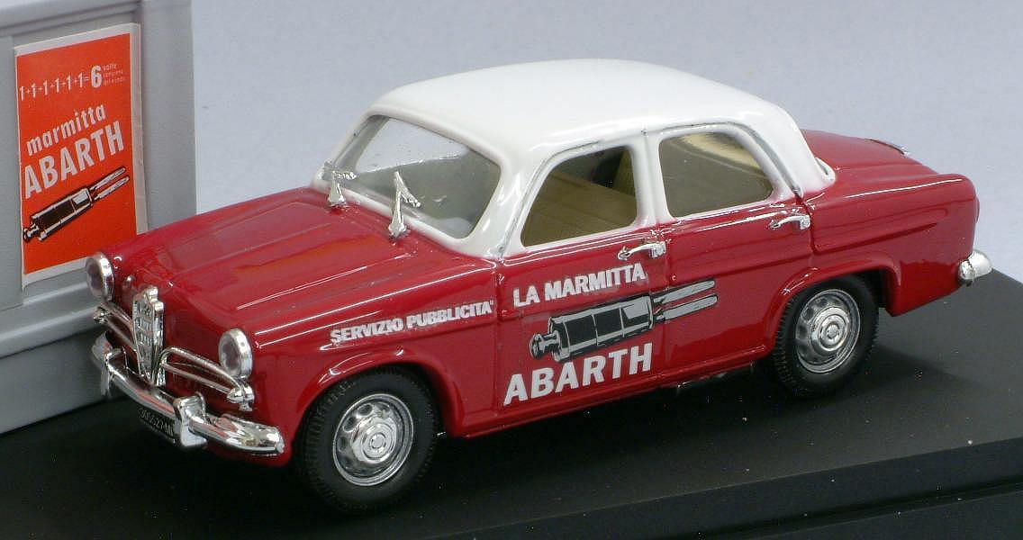 Rio Alfa Romeo Giulietta Marmitte Abarth 1957 1 43 Scale