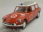 Citroen ID 19 Break Ambulance Fire Brigades 1962 by RIO