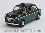 Fiat 1100 Taxi di Milano 1956 (with figurine) by RIO
