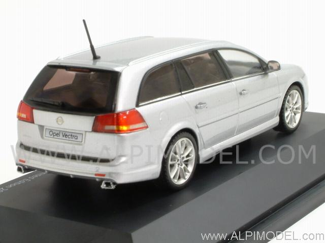 schuco opel vectra caravan opc star silver 1 43 scale model. Black Bedroom Furniture Sets. Home Design Ideas