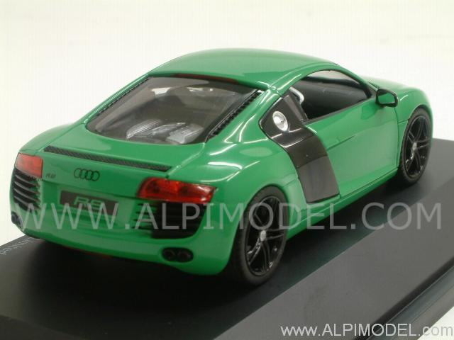 Schuco Audi R8 Green 1 43 Scale Model