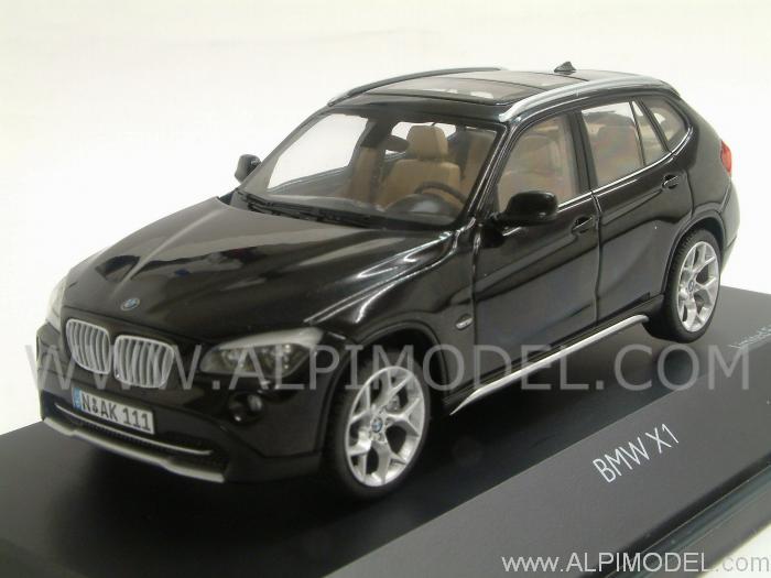 Schuco Bmw X1 2010 Sapphire Black 1 43 Scale Model