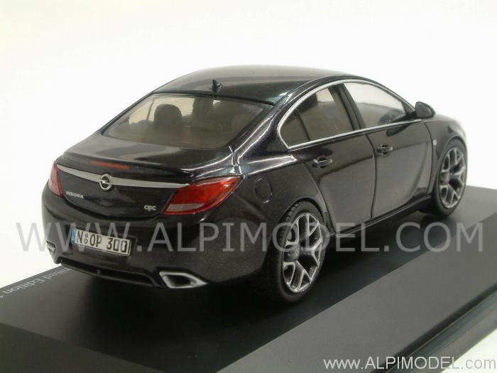 schuco opel insignia opc limousine black metallic 1 43 scale model. Black Bedroom Furniture Sets. Home Design Ideas