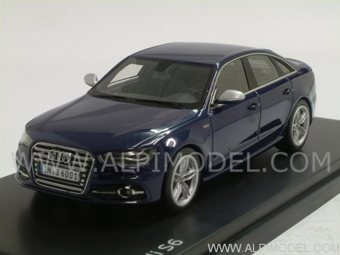 Schuco Audi S6 Estoril Blue Hq Resin Audi Promo 1 43