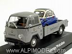 Tempo Matador  'BMW Teiledienst' with BMW Isetta by SCHUCO