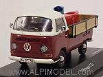 Volkswagen T2a Pickup with 'soap box' cars by SCHUCO