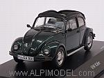 Volkswagen Beetle 1600 Open Air (Dark Green Metallic) by SCHUCO