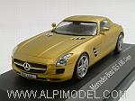 Mercedes SLS AMG Coupe (Gold Metallic) by SCHUCO