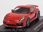 Porsche Cayman GT4 (Indian Red) by SHU