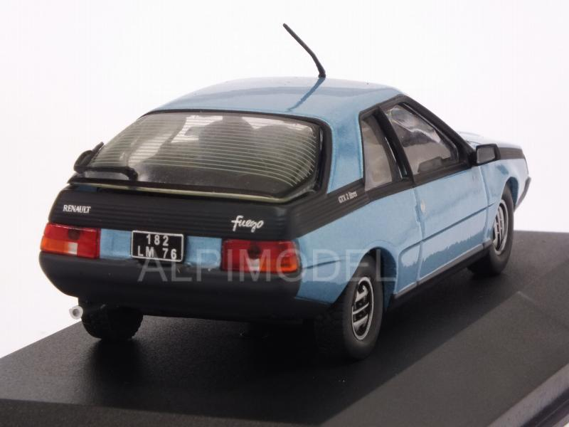 solido Renault Fuego GTX 1982 (Light Blue Metallic) (1/43 ... |Blue Renault Fuego