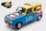 Renault 4 F4 1988 Darty by SOLIDO