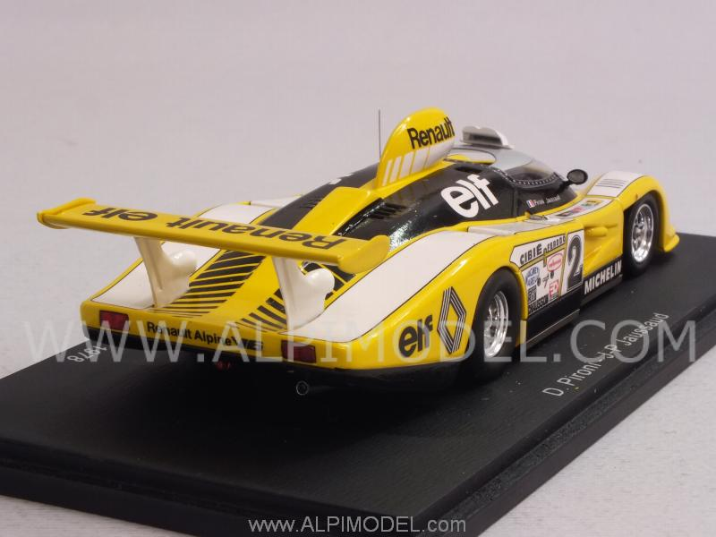 spark model alpine renault a422 16 winner le mans 1978 pironi jaussaud 1 43 scale model. Black Bedroom Furniture Sets. Home Design Ideas