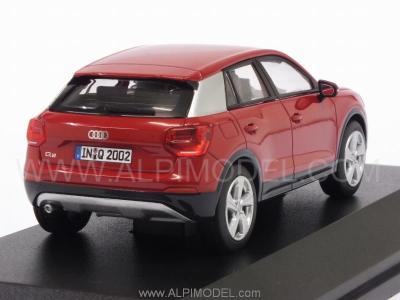 Spark Model Audi Q2 2016 Tango Red Audi Promo 1 43 Scale