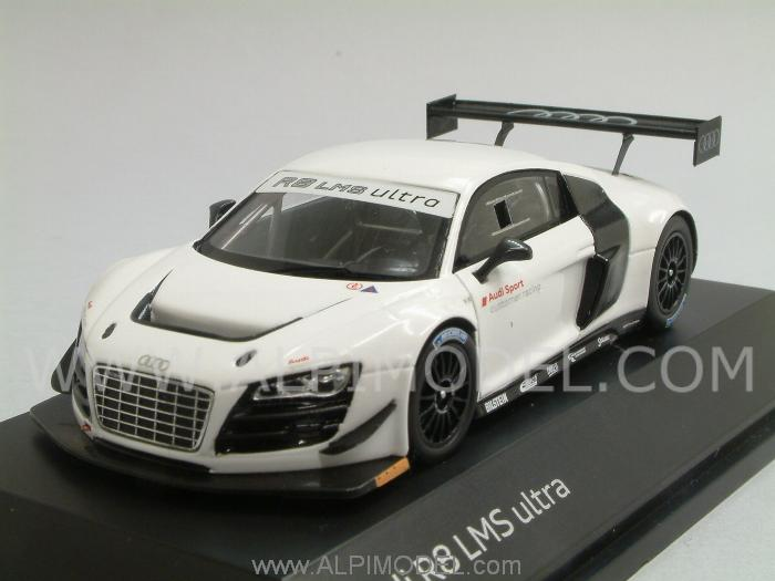 Spark Model Audi R8 Lms Ultra Test Car Audi Promo 1 43