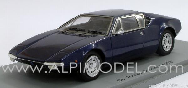 spark-model De Tomaso Pantera 1970 (Dark Blue) (1/43 scale model)