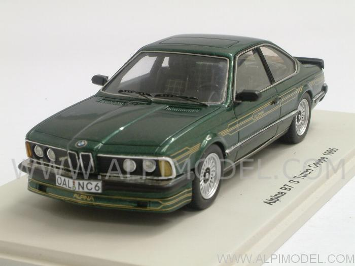 Spark Model Alpina Bmw B7 S Turbo Coupe E24 1985 Green