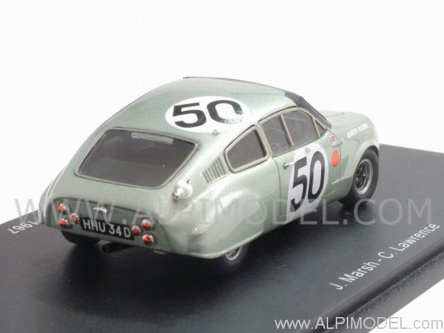 spark model mini marcos gt 50 le mans 1967 1 43 scale model. Black Bedroom Furniture Sets. Home Design Ideas