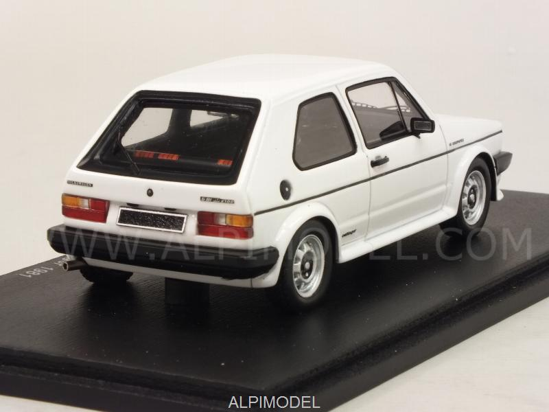 spark model volkswagen golf gti 16s oettinger 1981 white 1 43 scale model. Black Bedroom Furniture Sets. Home Design Ideas