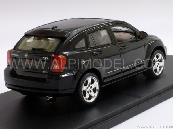spark model dodge caliber 2007 black 1 43 scale model. Black Bedroom Furniture Sets. Home Design Ideas