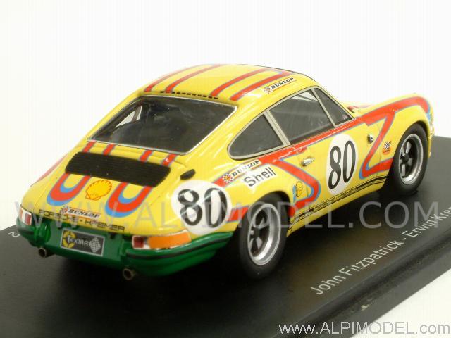 Spark model Porsche 911S 25 80 Le Mans 1972 Fitzpatrick