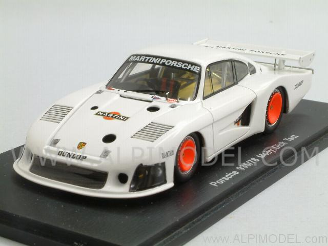spark model porsche 935 78 moby dick test car paul ricard 1978 1 43 scale model. Black Bedroom Furniture Sets. Home Design Ideas