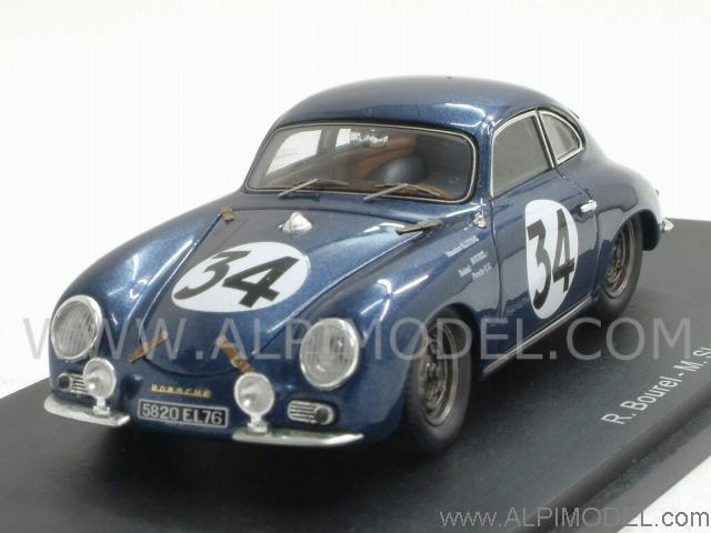 Spark Model Porsche 356 A 34 Le Mans 1956 Bourel