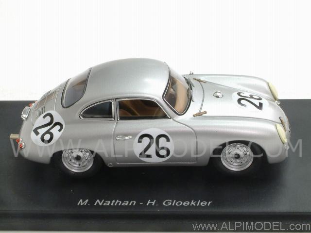 Spark Model Porsche 356 1500 Carrera 26 Le Mans 1956