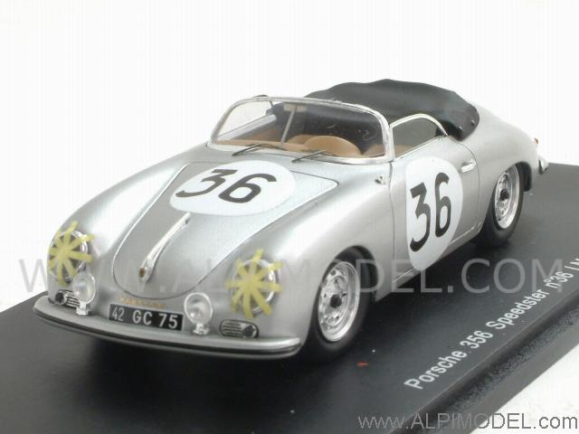 Spark Model Porsche 356 Speedster 36 Le Mans 1957 Bourel
